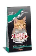 MIGLIORGATTO Miglior Gatto MANGIME PER GATTI - Croccantini Mix con Verdure -2 Kg