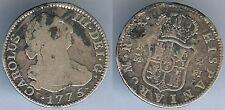 Monnaie - ESPAGNE Hispanarium Rex Carolus  III Dei G. 1775 2 réales