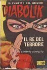 NOIR - Diabolik Prima Serie Ristampa SODIP N° 1 - Il Re del Terrore - USATO