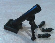 GUN / MORTAR CAMPAIGN COMPATIBLE WITH  minifigures  alegoricWWII ARMY ACCESORIES