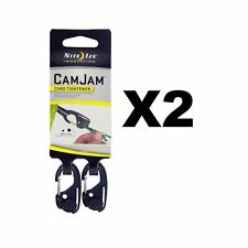 Nite Ize CamJam Mini Cord Tightener Small Compact Durable (2-Pack of 2)