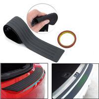 90cm For Ford Kuga  Rubber Rear Bumper Protector Pad Sill Plate Guard Trim Black