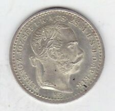 More details for 1873 kb hungary silver 10 krajczar in mint condition.