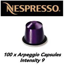STOCKUP SPECIAL!! 100 Genuine Arpeggio Nespresso Capsule *BNIB*