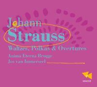 Anima Eterna Brugge - Johann Strauss: Waltzes, Polkas and Overtu [CD]