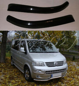 Fits VW T5 Preface Lift (-2009) - Eye Brows Head Light Cover