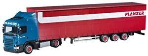 HER303521 - Camion avec remorque PLANZER – SCANIA R09 Highline 4x2 -  -
