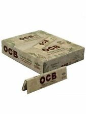 OCB Organic King Size Slim - BOX 24 PACKS - Unbleached 32 Papers Pack Rolling
