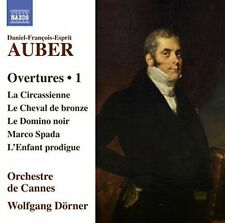 DANIEL-FRAN‡OIS-ESPRIT AUBER: OVERTURES, VOL. 1 NEW CD