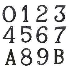 Hausnummer Nummern Industrial Zahl Ziffer Zahlen Ziffern Gusseisen Hausnummern