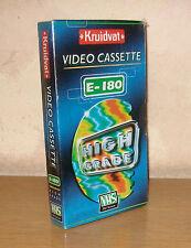 Kruidvat E-180 Videokassette Leerkassette Casette PAL NEU & OVP sealed Holland