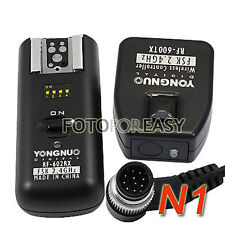 RF602 Wireless Remote Flash Trigger Nikon D700 D800 D800E D300 D200 D1 D3 D4 D3S