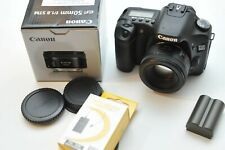 Canon EOS 30D Body Black Digital Camera With 50mm 1.8 STM Lens