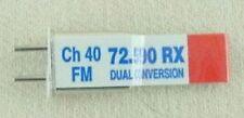 Airtronics DC 72Mhz  FM Receiver Crystal - CH40 72.590