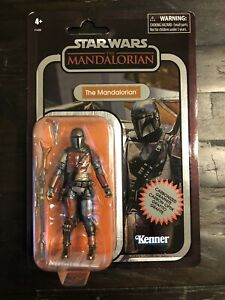 Star Wars Vintage Carbonized Collection The Mandalorian Walmart Action Figure