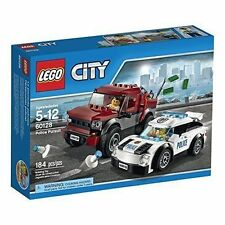 60128 POLICE PURSUIT lego set NEW city town train legos cop truck retired