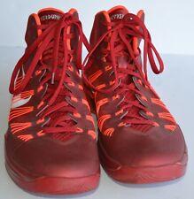 New listing Nike Hyperdunk 2013 Basketball Shoes Men's Size 11 Red Bright Crimson