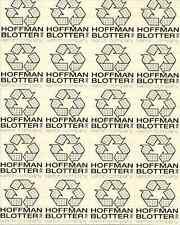 KARTON COMPANY Albert Hofmann - blotter art - psychedelic goa acid artwork