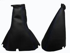 Para CHEVROLET LACETTI - Fuelle Palanca de Cambio y Freno - Costuras Azul Oscuro