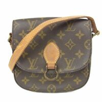 Auth LOUIS VUITTON Vintage Monogram Mini Saint Cloud PM Shoulder Bag 18642bkac