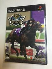 New Breeder's Cup World Thoroughbred Championships Game Playstation 2 NEW SEALED