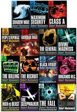 Cherub Series Collection Robert Muchamore 15 Books Set The Recruit, The Killing