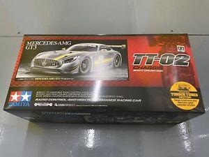 TAMIYA RC 58639 Mercedes AMG GT3 TT-02 1:10 Car Assembly Kit