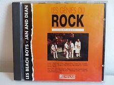 CD ALBUM Les génies du rock Surf music BEACH BOYS / JAN AND DEAN RK CD 405