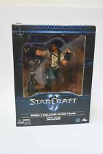 DC Unlimited Starcraft 2 series collector action figure Jim Raynor statue