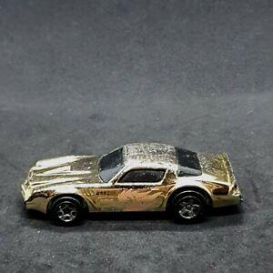 Camaro Z28 Dragon Fire Gold Chrome Hot Wheels Vintage Die-Cast Vehicle 1982