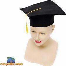 SCHOOL DAYS GRADUATION UNIVERSITY HAT - mens womens fancy dress accessory