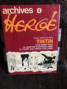ARCHIVES HERGE - TOME 4  1980