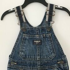 d39c30a40 Oshkosh b 'gosh Unisex Shortall pantalones cortos babero Mono Denim Azul  Jean 18M del niño