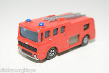 MATCHBOX LESNEY 35 MERRYWEATHER FIRE ENGINE RED EXCELLENT CONDITION REPAINT