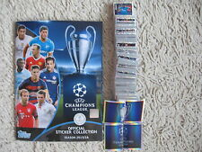 topps stickers champions league 2015 2016 complete set  all 619 full match attax