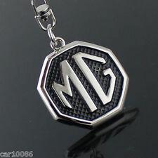 Car logo Key Chain Metal Single Side Keychain Key Ring FOR MG Free Shipping