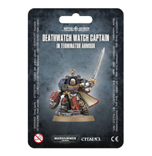 Watch Captain in Terminator Armor Deathwatch Blister Warhammer 40K Nib