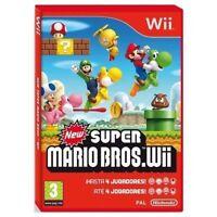 juego SUPER MARIO BROS WII - Nintendo WII / Nintendo WII U!!! JUEGAZO!!!!!