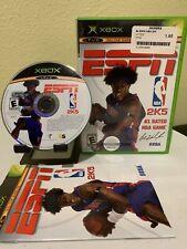 ESPN NBA 2K5 (Microsoft Xbox, 2004) Complete CIB