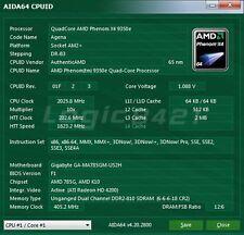AMD Phenom X4 9350e HD9350ODJ4BGH 2.0GHz AM2+ 65W Processor