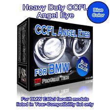 BMW CCFL Angel Eyes Halo Rings E46ci Blue 318ci 320ci 325ci 330ci Facelift