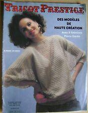 Magazine Tricot Prestige des modèles de haute création  N° 32  /A25