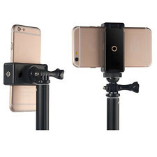 Universal Phone Clip Bracket Holder Mount Adapter Stand Tripod Selfie Monopod