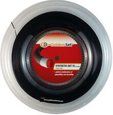 GSI Synthetic Gut 16 black tennis string - 660' Reel