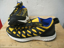 NIKE X ACG REACT TERRA GOBE SHOES BLUE / YELLOW SIZE 10 NEW IN BOX MISSING COVER