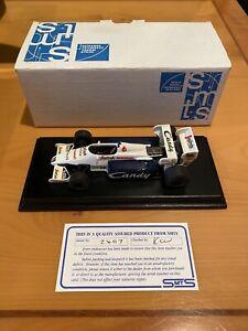 SMTS 1/43 Ayrton Senna 1984 Toleman Model Car Tameo BBR