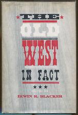 The Old West in Fact-1st Printing/DJ-1962-Mark Twain, Pat Garrett