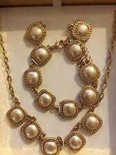 pearl set fine jewelry