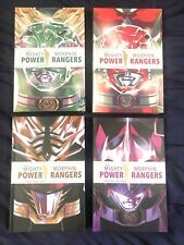 Power Rangers Deluxe Hardcover Year One, Two, Shattered Grid, Beyond The Grid