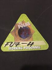 7/4 2007 THE POLICE WORLD TOUR FABRIC BACKSTAGE PASS HERSHEY PA.